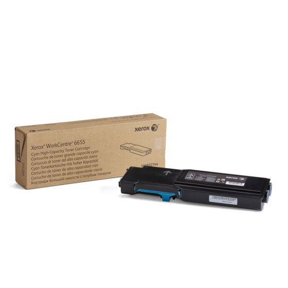 Xerox Workcenter  6655 Original Toner Cartridge - Cyan