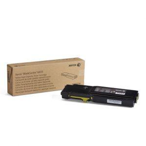 Xerox Workcenter  6655 Original Toner Cartridge - Yellow